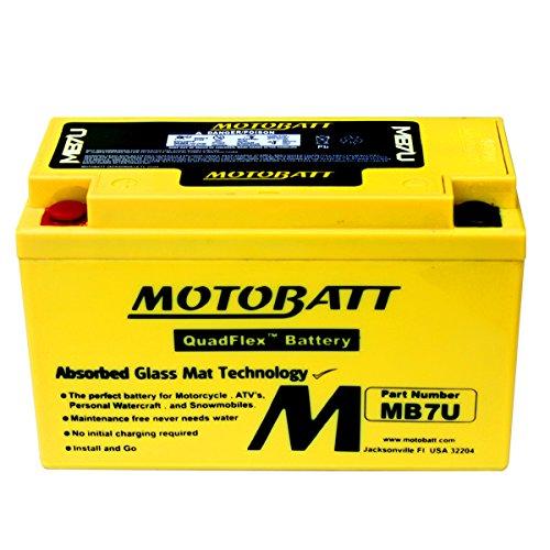 NEW Motobatt AGM Battery For Suzuki DR-Z400SM DR-Z400E DR-Z400S Motorcycles