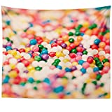 jelly bean cotton candy machine - Westlake Art Wall Hanging Tapestry - Confectionery Candy - Photography Home Decor Living Room - 51x60in