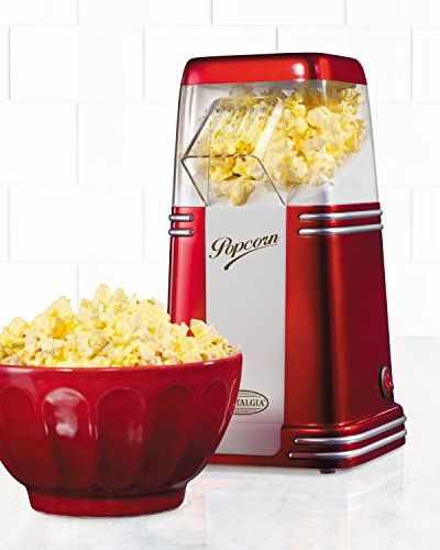 082677242075 - Nostalgia RHP310 Retro Series 8-Cup Hot Air Popcorn Maker carousel main 1