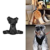 Cheap Pet Dog Soft Mesh Padded Adjustable Flexfit Car Automotive Seat Safety Strap Vest Harness Vehicle Seatbelt Lead Leash Clip Training Halter Travel For Small/Medium/Large Dogs Cats