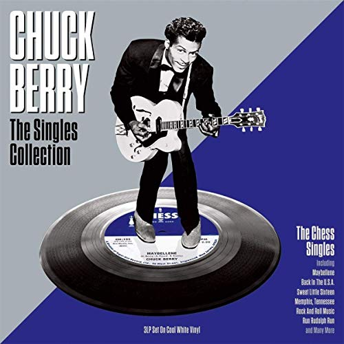 Singles Collection (White Vinyl) (The Chuck Berry Single Rock And Roll Music)