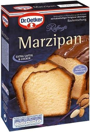 Dr Oetker Marzipan Kuchen 8er Pack 8 X 495 G Packung Amazon De