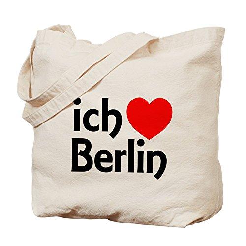 CafePress - Berlin - Natural Canvas Tote Bag, Cloth Shopping - Berlin Shopping