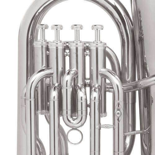 Mendini MEP-N Nickel Plated B Flat Euphonium with Stainless Steel Pistons by Mendini (Image #5)