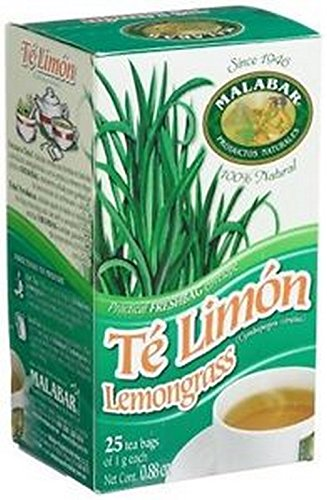 Malabar Products Lemongrass Tea Bags, Pack of 1