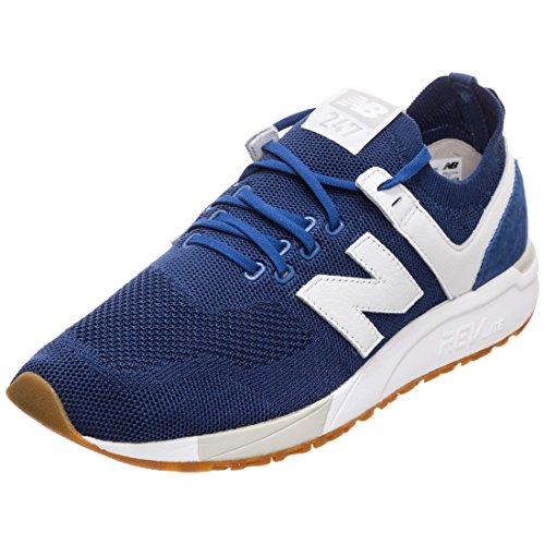 Balance Uomo Sneaker Mrl247d1 bianco Blu New qSA408x