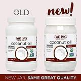 Nutiva Organic, Cold-Pressed, Unrefined, Virgin Coconut Oil from Fresh, non-GMO, Sustainably Farmed Coconuts, 15 Fl Oz (Pack of 2)