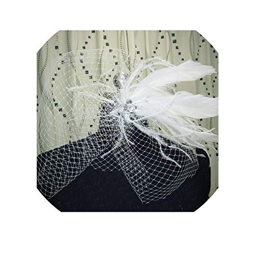 New Feather Real Sample,Ivory -