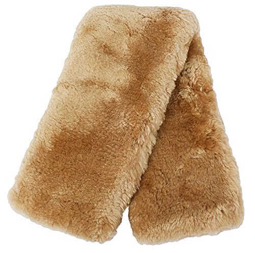 ECP Real Genuine Sheepskin Girth Protection Cover   Helps Prevent Gall Sores Chafes   26 Inches Palamino