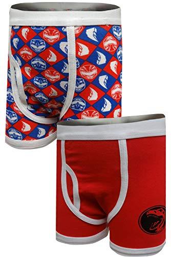 Power Ranger Boys' Big Red Ranger Underwear 2