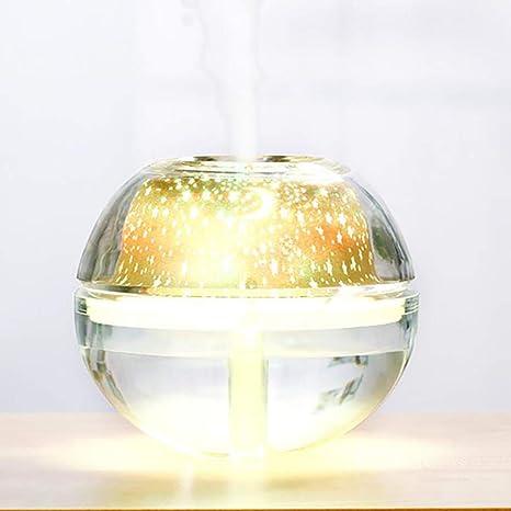 AIMEI Difusor De Aceites Esenciales De Proyección De Cristal ...