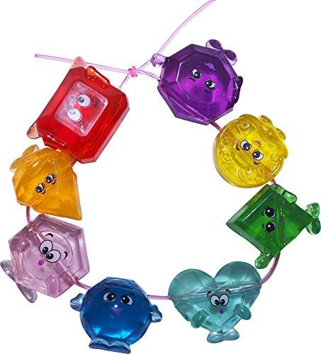 DGL Gemlins Family Charm Bracelet Kit (8 Pack), Assorted Colors