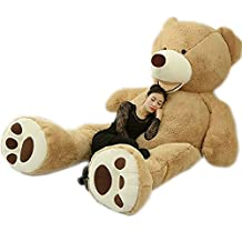 102 Inch (8.5 Foot) Super Giant Teddy Bear Plush Doll Stuffed Animal Toy Huge Bear ( Filled ) Festival Birthday Gift 260 cm For Lover …