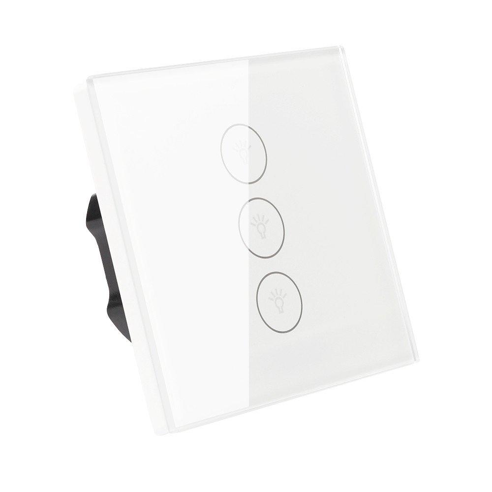 BIUBIUboom Smart WiFi Lichtschalter, Touch Wandschalter Panel ...