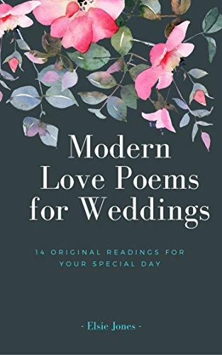 Amazon Com Modern Love Poems For Weddings 14 Original Readings For