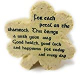 Roman Shamrock-Shaped Plaque with Message (47266)