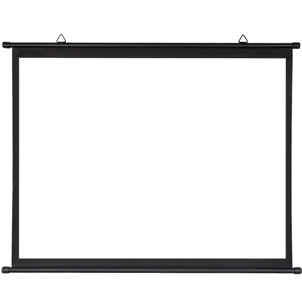 - Wall or Ceiling mountable Matt White Fabric 16:9 70x 39 Luxburg 80 177x100cm 4K 3D Simple Bar Projector Projection Screen