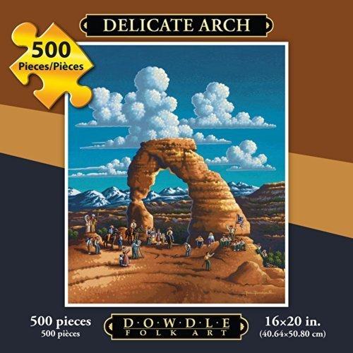 Jigsaw Puzzle Delicate Arch 500 Pc By Dowdle Folk Art by Dowdle Folk Art
