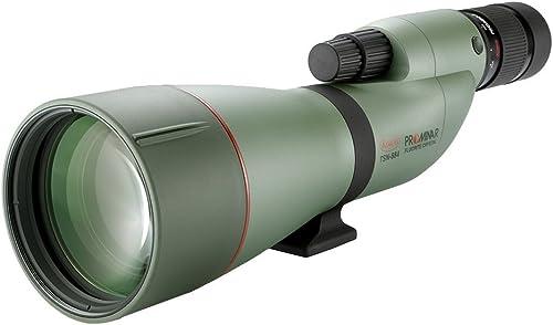 Kowa TSN-880 Series Straight Body High Performance Spotting Scope with PROMINAR Pure Fluorite Lens, 88 mm Green