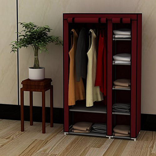 39-portable-home-wardrobe-storage-closet-organizer-rack-with-shelves-claret