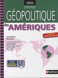 Géopolitique des Amériques par Anne-Laure Amilhat-Szary