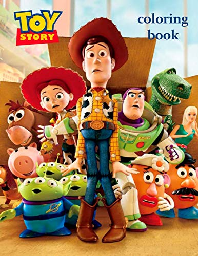 Toy Story Coloring Book: Coloring Book For  Kids and Adults with Fun and Easy Coloring Pages for Сartoon, Book and Films Lovers, 30+ illustrations, 8.5x11