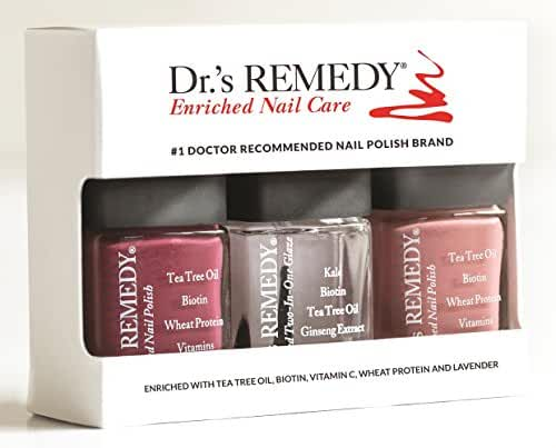 Dr.'s REMEDY Anniversary 3 Piece Boxed Set, Brave Berry/Resilient Rose