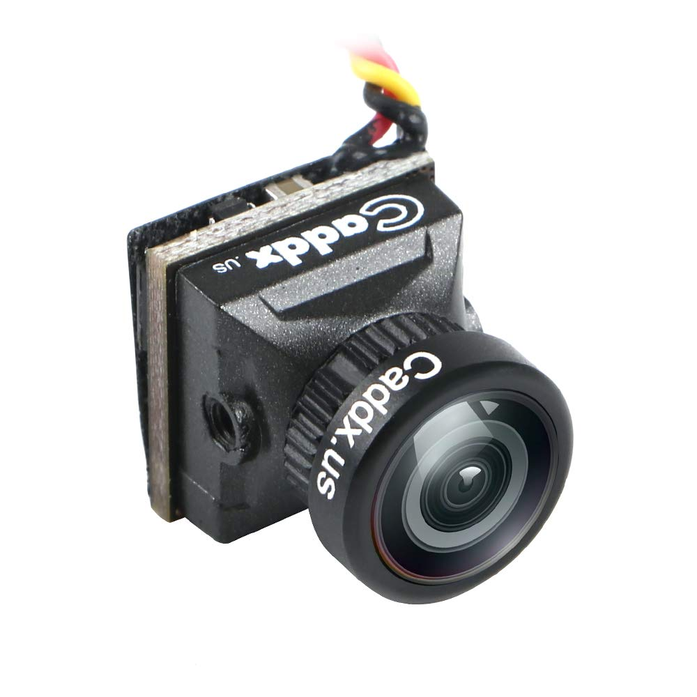 Caddx Mini FPV Camera EOS2 Turbo EOS2 4:3 1200TVL 2.1mm FOV 160 Degree 1/3 CMOS NTSC for FPV Quadcopter Racing Drone by Crazepony by Crazepony