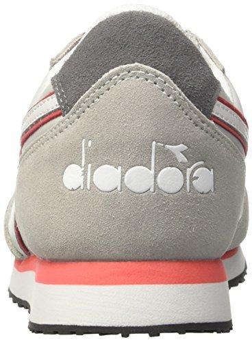 Deporte Contessa Mujer De run K Gris grigio Diadora rosa W Para Zapatillas Alluminio 6w7EHqB