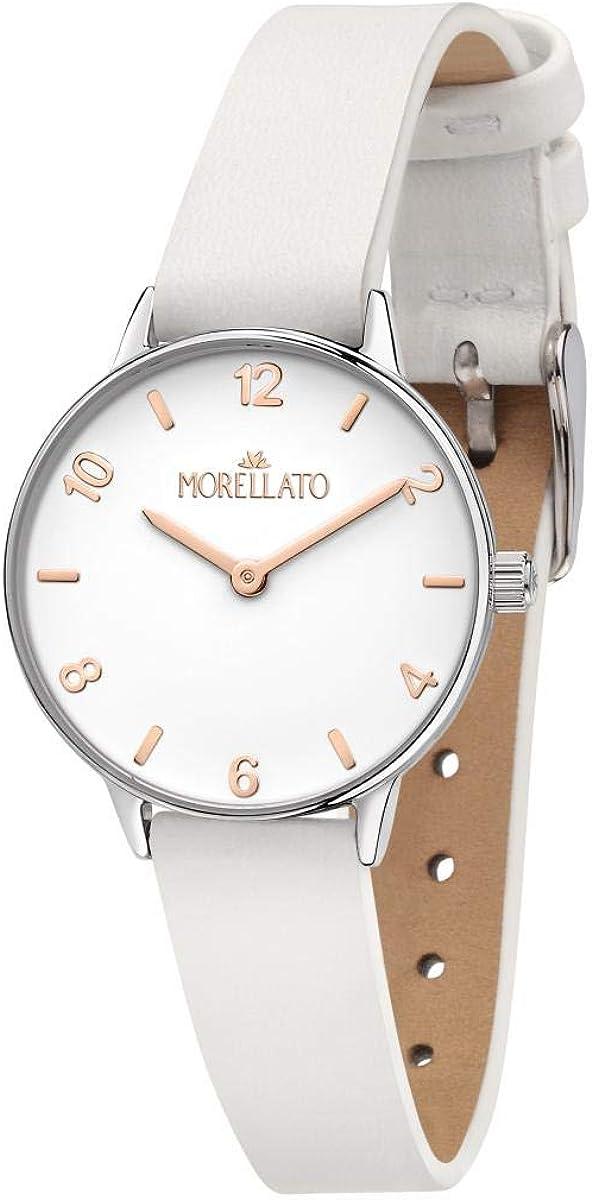 Morellato Reloj para Mujer, Colección NINFA, en Latón, Cuero - R0151141529