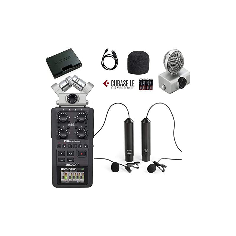 Movo Zoom H6 Six-Track Portable Handy Re