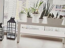 ikea tv bank lack 90x26x45cm beistelltisch in weiss mit unterfach k che haushalt. Black Bedroom Furniture Sets. Home Design Ideas