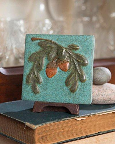 Acorn Tile (Ephraim Faience Pottery)