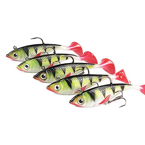 Goture Soft Lead Fish Set Kit Lots,Best Choice For Fishing Lures Baits Tackle Set For Freshwater Trout Bass Salmon-Include Vivid Spinner Baits,Topwater Frog Lures,Crankbaits Lures,Spoon Lures,and More