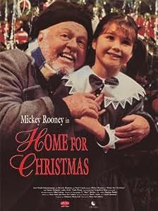 Póster de película Home for Christmas 11x 17en–28cm x 44cm) Mickey Rooney Simon Richards Lesley Kelly chantellese Kent plener de Noé
