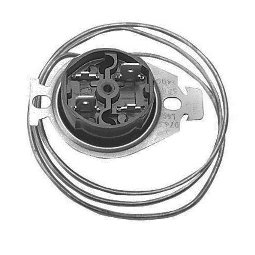 All Points 48-1061 Disc Hi-Limit Safety Thermostat; Type L6C; Temperature: 184 Degrees Fahrenheit; 24'' Capillary