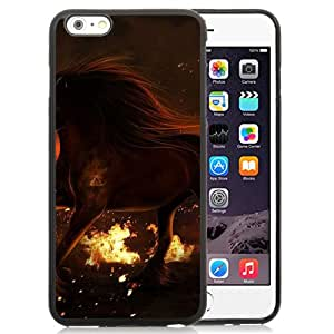 Beautiful And Unique Designed With Horse Fire Field Eyes For iPhone 6 Plus 5.5 Inch TPU Phone Case