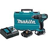 Makita XPH10R 18V Compact Lithium-Ion Cordless Hammer Driver-Drill Kit (2 Amp), 1/2″ Review
