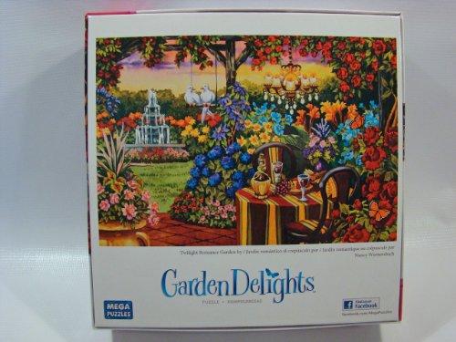 Garden Delights 750 Piece Jigsaw Puzzle: Twilight Romance Garden