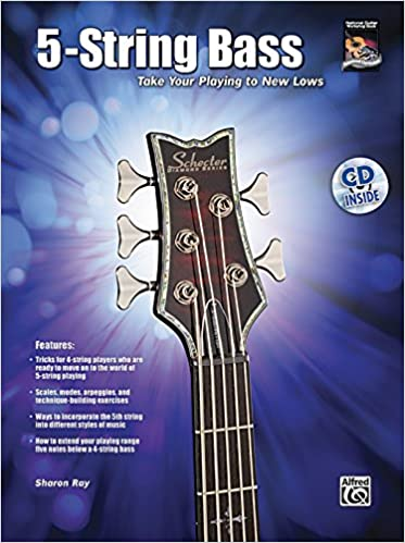 5 string bass taking your playing to new lows book cd national guitar workshop