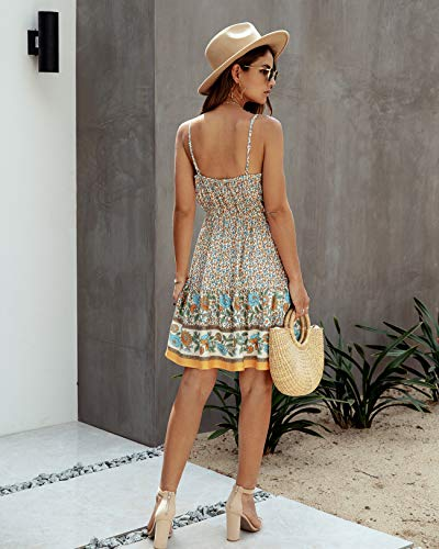 Backless Beach Mini Dress