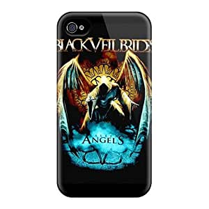 New Style GAwilliam Black Veil Brides Premium Tpu Cover Case For Iphone 4/4s by icecream design
