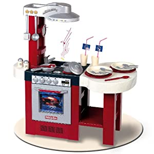 Bosch Toy Kitchen Set Gourmet Deluxe (Red)