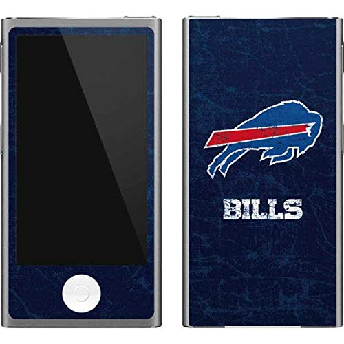 Skinit NFL Buffalo Bills iPod Nano (7th Gen&2012) Skin - Buffalo Bills Distressed Design - Ultra Thin, Lightweight Vinyl Decal Protection
