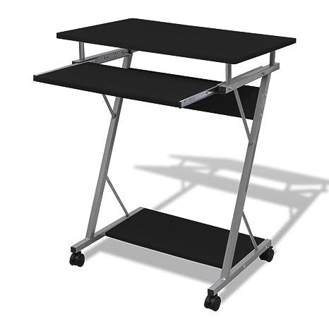 Computertisch Schreibtisch Laptoptisch Bürotisch Computerwagen Tisch mit Rollen