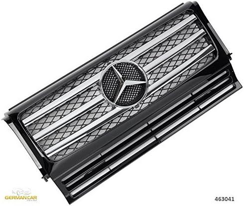 Germancarparts Gcp 463041 Grill 90 14 Schw Chrom Auto