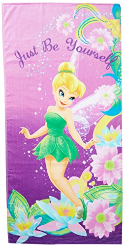 Disney Tinkerbell Pretty Girl Cotton Towel