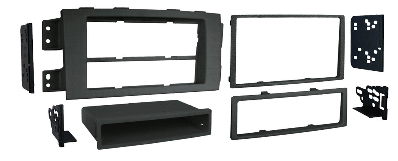 Metra 99-7334 Single or Double DIN Dash Kit for 2009 Kia Borrego (Black) Metra Electronics Corporation