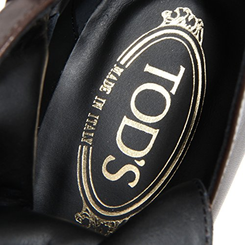 Tod's 80467 Gomma Fibbia Stivale Di Tronchetto Si Testa Wom Scarpa Boots T110 Donna Shoes Moro 5qqfAwxr