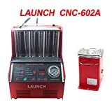 Launch CNC-602A Injector Cleaner & Tester CNC 602A Electromechanical Fuel Cleaner With Transformer